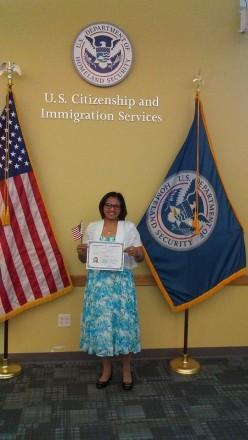 Mary Gace U S Citizenship